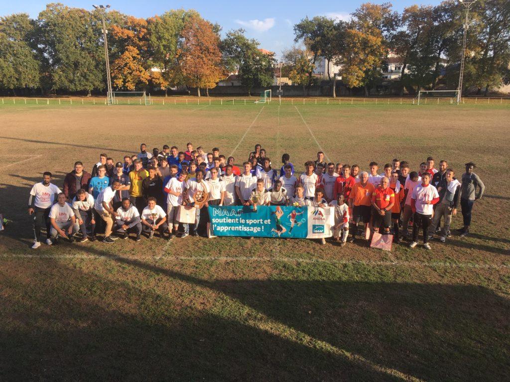 Les participants du tournoi.