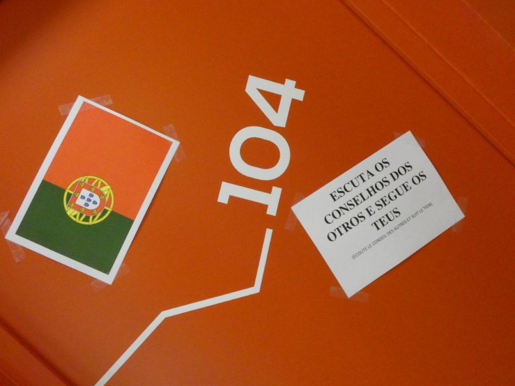 drapeau portugual - BTP CFA 16 - eRASMUS